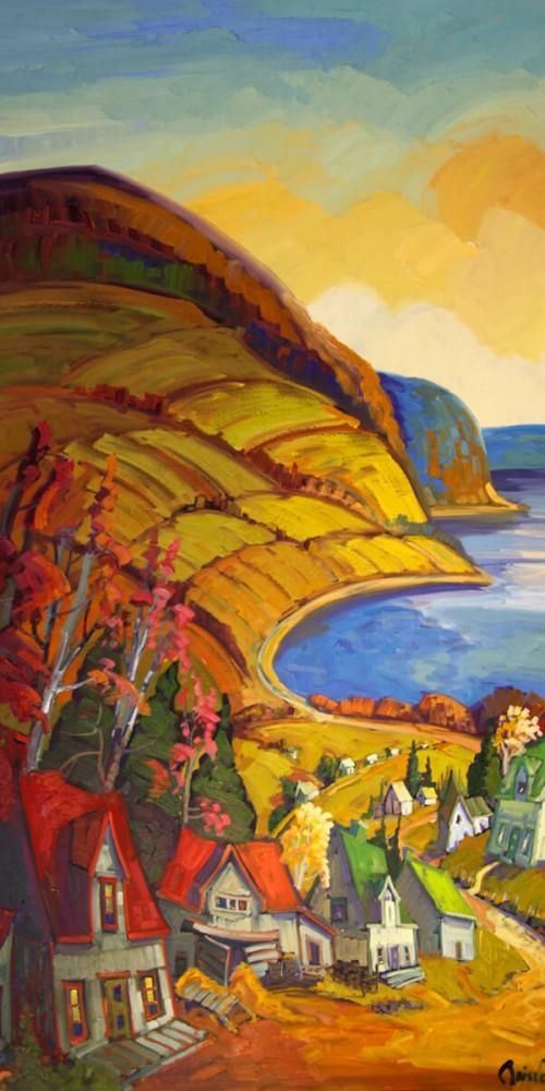 Horizon lointain - Charlevoix - Normand Boisvert