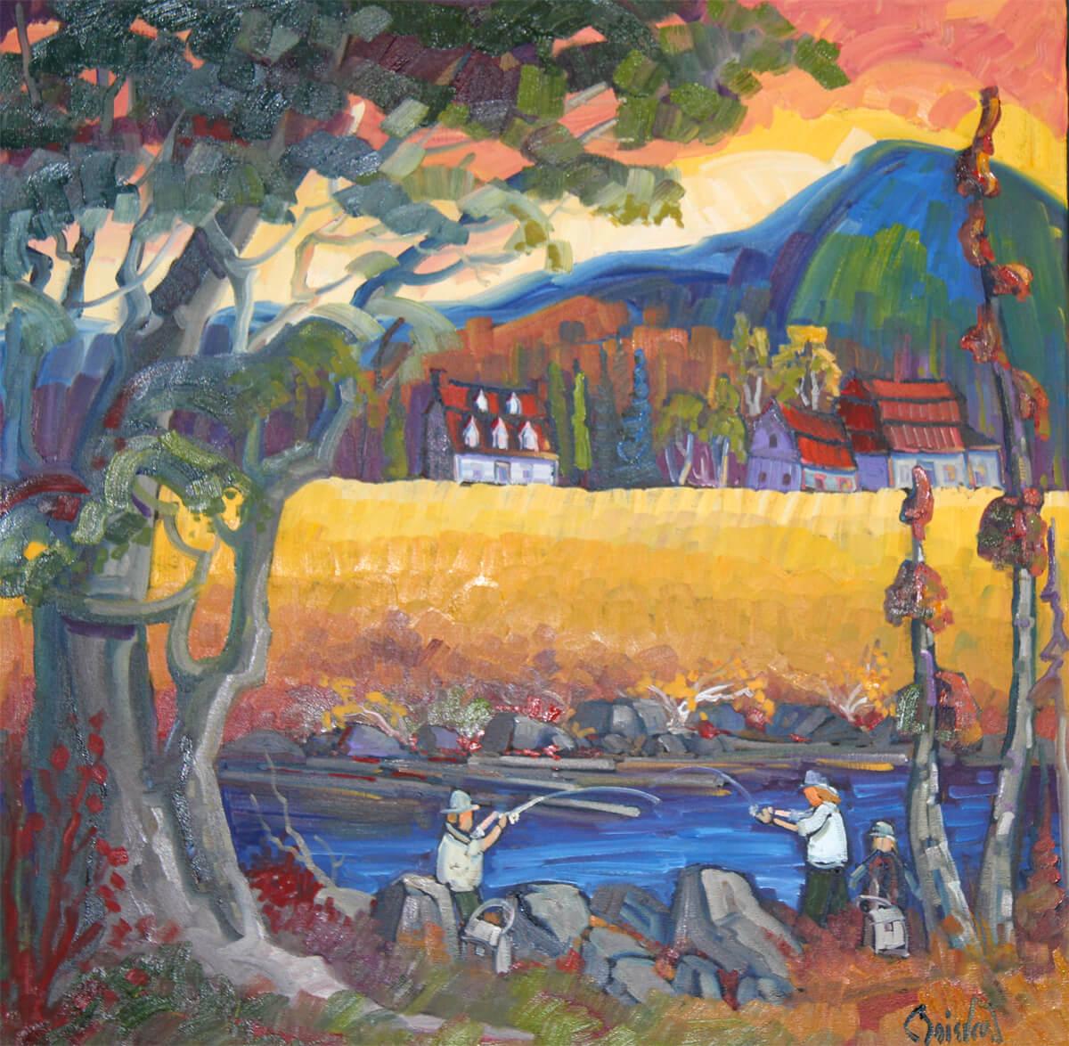 Plaisirs d'automne - Normand Boisvert