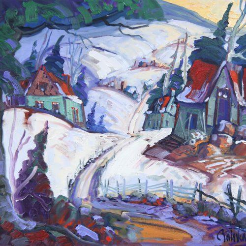 Le chemin des granges - Normand Boisvert