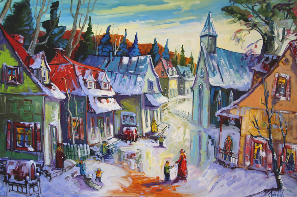 Village d'antan - Normand Boisvert
