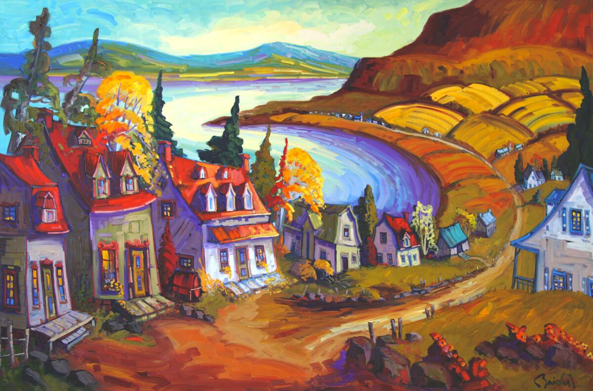 Octobre au Saguenay - Normand Boisvert