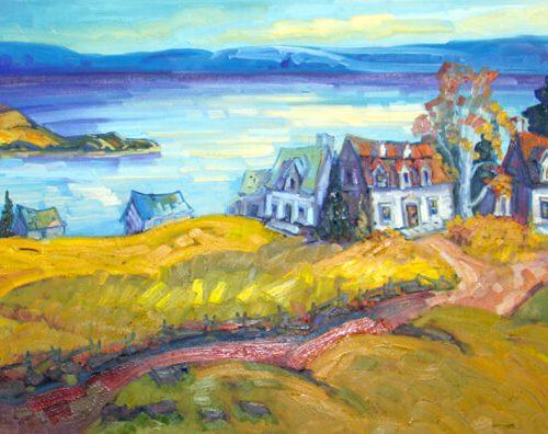 Lumière de l'Isle-aux-coudres - Normand Boisvert