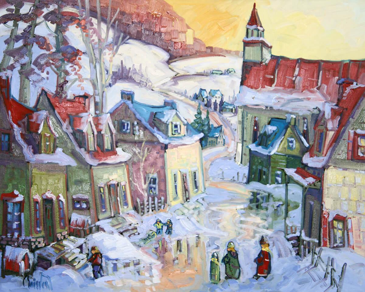 Sortie familiale au village - Normand Boisvert