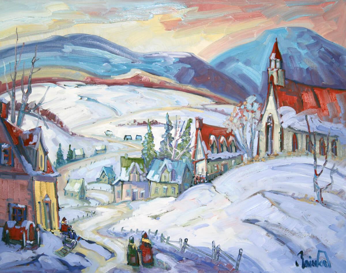 Sérénité hivernale - Normand Boisvert