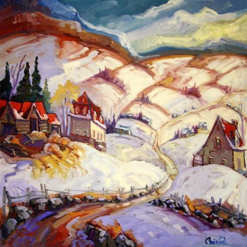 Ferme à la montagne - Normand Boisvert