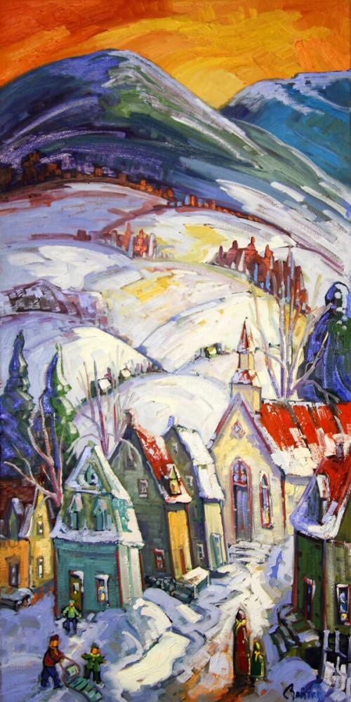 Une visite à l'église des Éboulements - Normand Boisvert