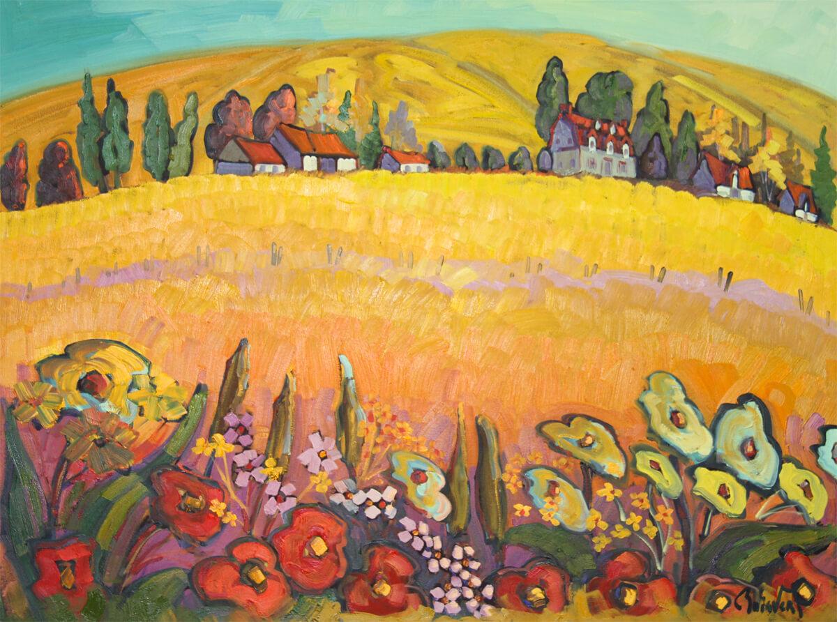 Fleurs en fête - Normand Boisvert