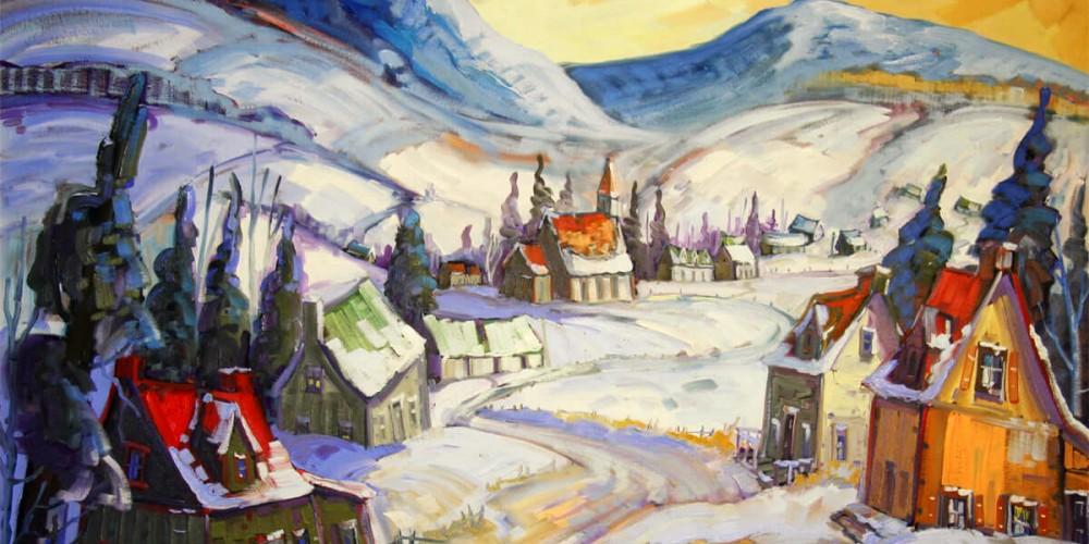 Village de St-Tite des Caps - Normand Boisvert