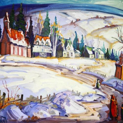 Un hiver à Baie St-Paul - Normand Boisvert