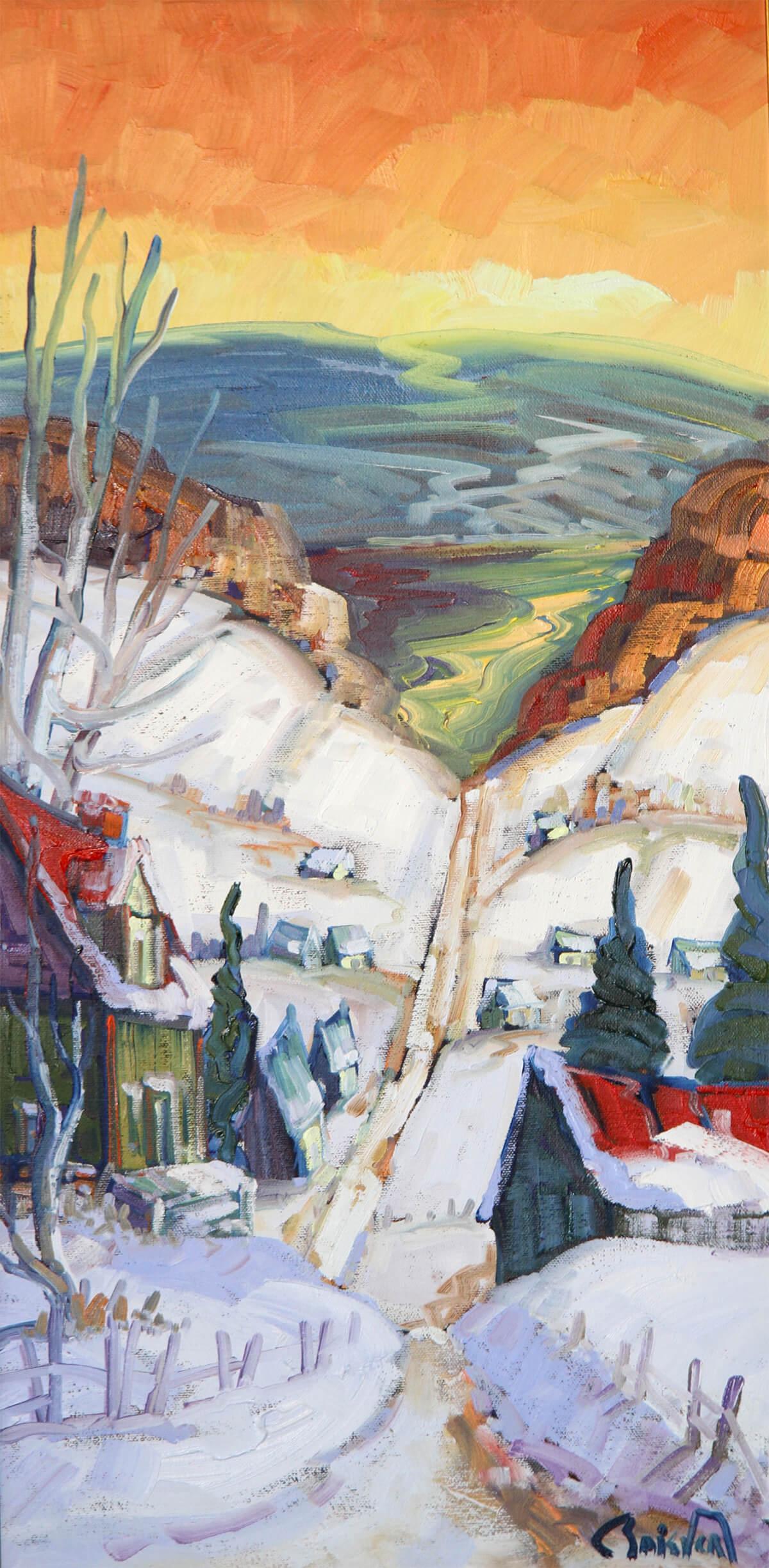 Horizon au Saguenay - Normand Boisvert