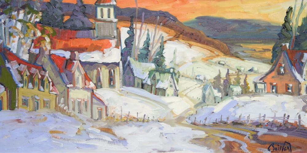 Le chemin de l'Église - Normand Boisvert