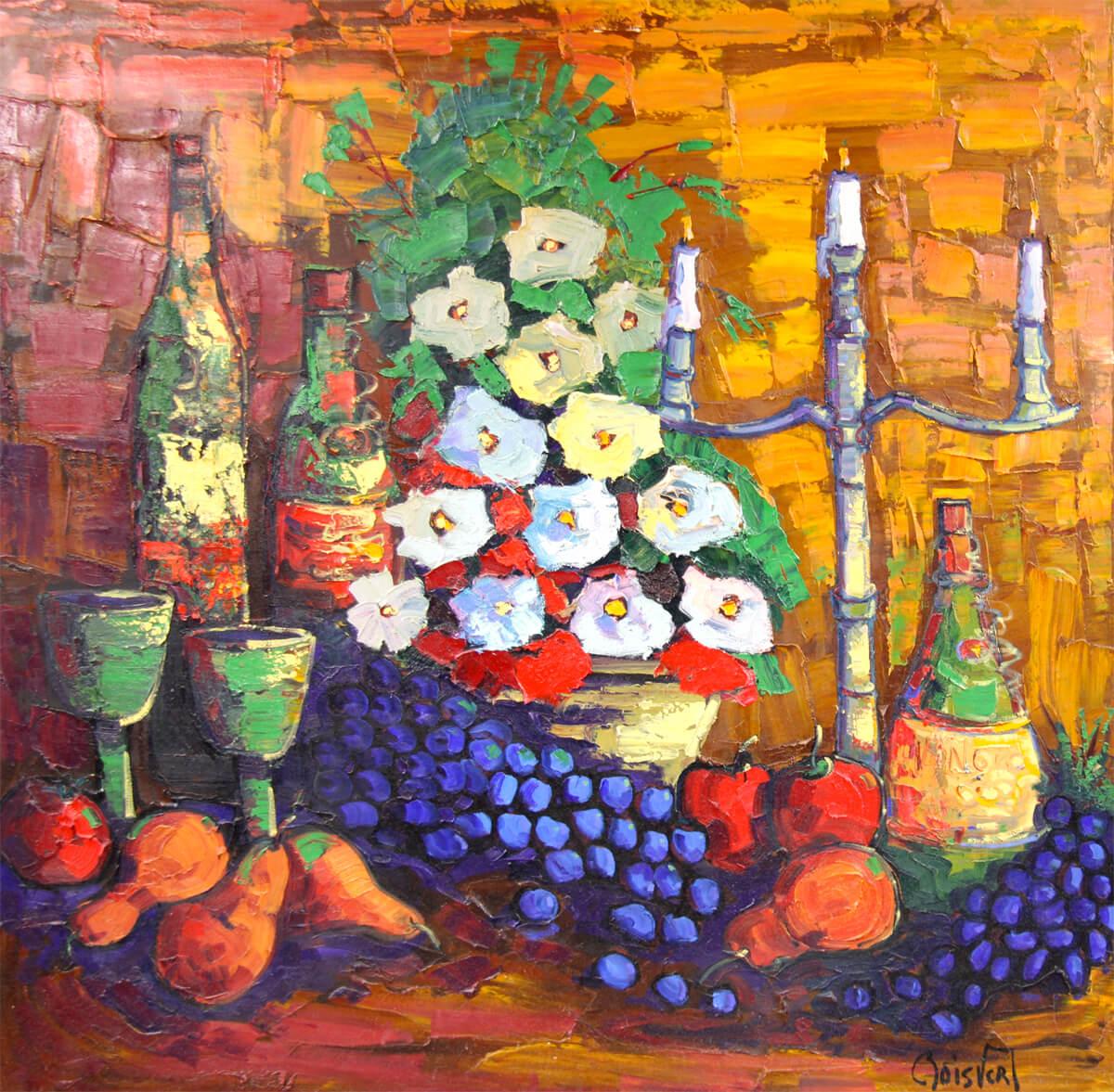 85-Abondance et vin - Normand Boisvert