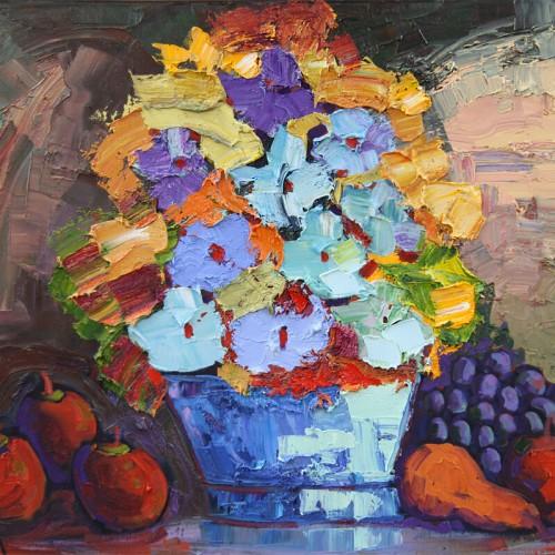 Fruits et fleurs en mouvement - Normand Boisvert
