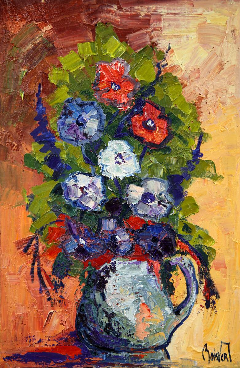 Fleurs - Normand Boisvert