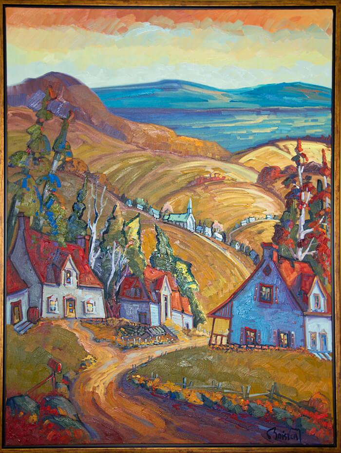 Splendeur d'automne - Normand Boisvert