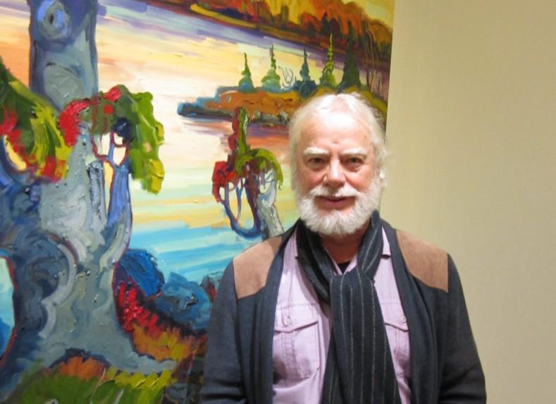 Normand Boisvert, Artiste peintre