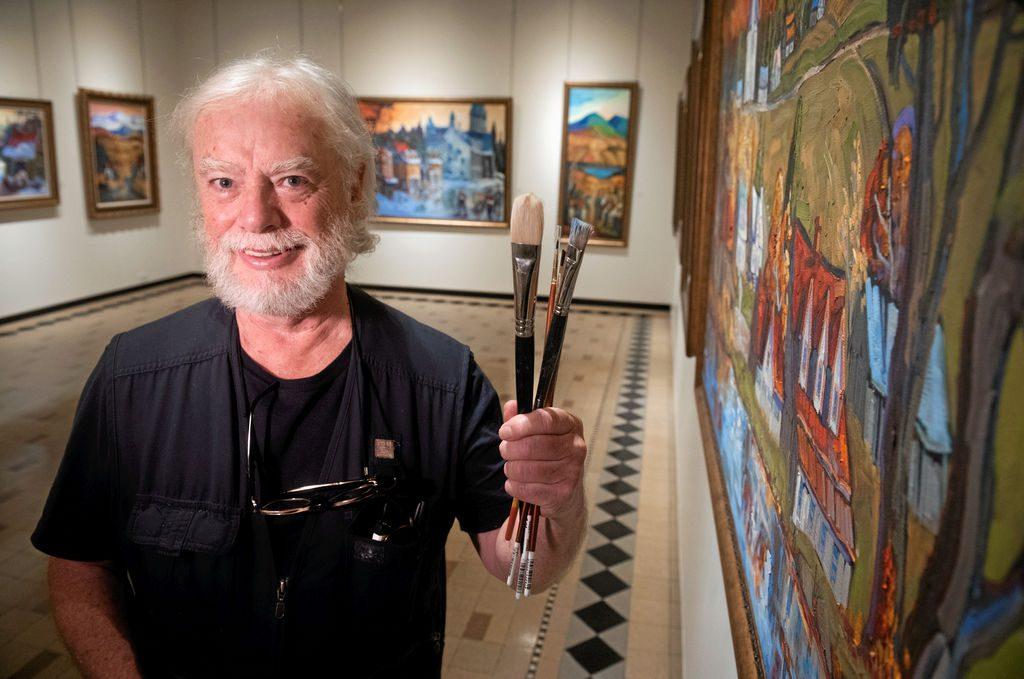 Normand Boisvert, rétrospective 50 ans de création